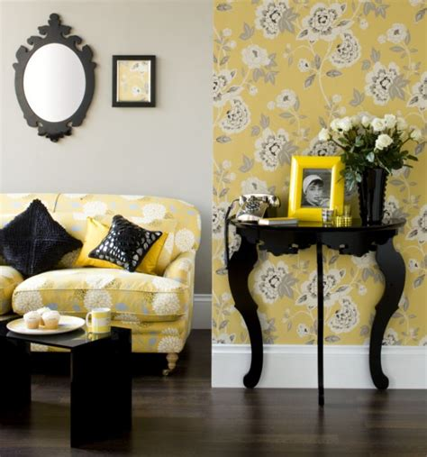 yellow decor mellow yellow decor takes on a glow daily mail