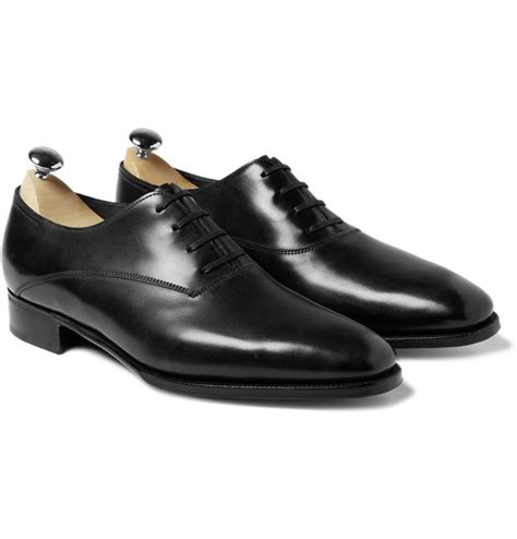 oxford shoe for lobb prestige becketts leather oxford shoes in black