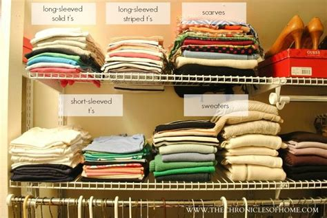 organizing shirts in closet 17 best images about closets on pinterest closet