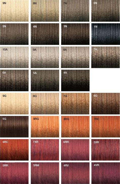myth s big hair color swatch chart by mytherea on deviantart vero k pak color system swatches joico joicolor system
