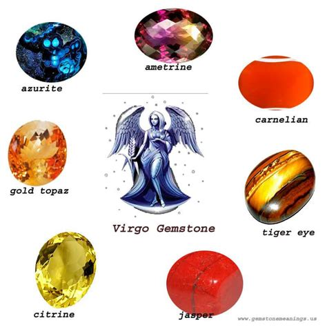 virgo color gemstone for virgo the best list virgo birthstone