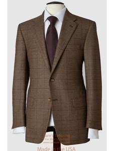 Jhane Barnes Suits Hickey Freeman Tailored Mahogany Collection Brown