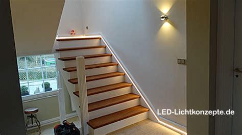 treppenhausleuchten led treppenhaus treppe lichtleiste led lichtkonzepte gmbh