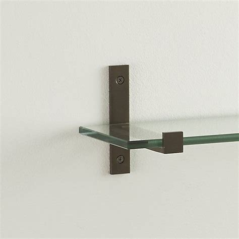 best 25 glass shelf brackets ideas on glass