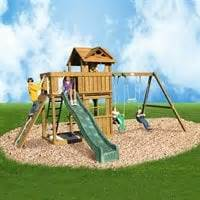 creative playthings swing playtime swing sets the mine