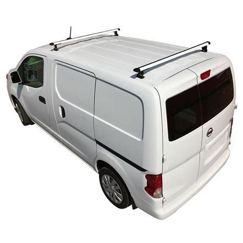 Nissan Nv Roof Rack by White J1000 2 Bar Ladder Roof Rack For A Nissan Nv200 2013