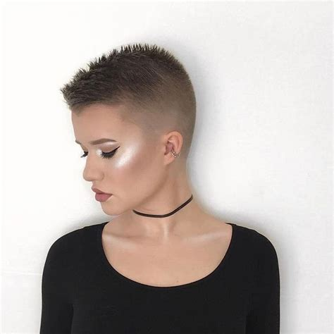 women getting crew cut haircuts 255 best images about hair pixie buzz cuts short