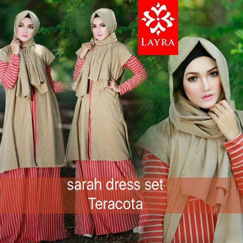 Syahla 2 By Balimo teracota baju muslim gamis modern