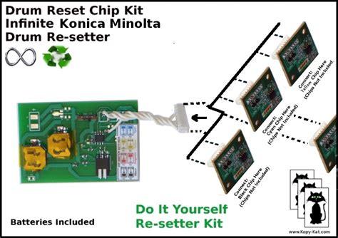 reset tool konica minolta c451 c550 c650 konica minolta bizhub drum reset chip tool