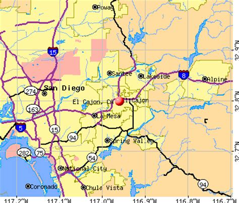 el cajon, california (ca 92071) profile: population, maps