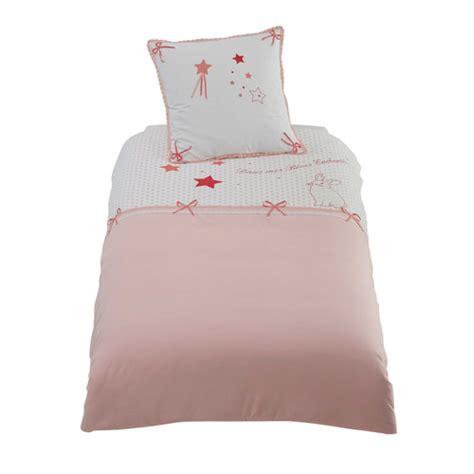 lit 140 enfant parure de lit enfant 140 x 200 en coton stella