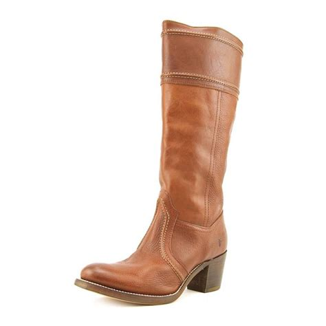 American Country Home Decor by Frye Frye Jane 14l Women Leather Brown Knee High Boot Boots