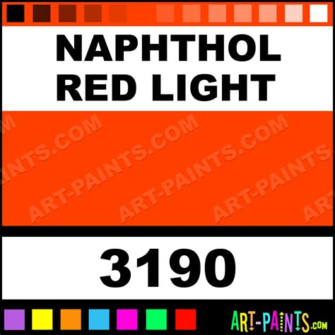 naphthol light finest liquid acrylic paints 3190 naphthol light paint naphthol