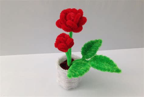 make clean how to make a pipe cleaner pot 1 the