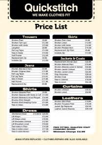 wedding dress alterations price list uk