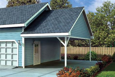 Two Story Pole Barn Garage Plan 6023 At Familyhomeplans Com