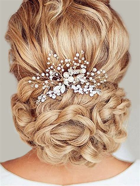 Wedding Hair Accessories Combs by Bridalvenus Wedding Bridal Silver Headband