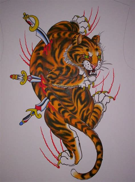 tattoo dragon and tiger meaning japanese tiger tattoo meaning