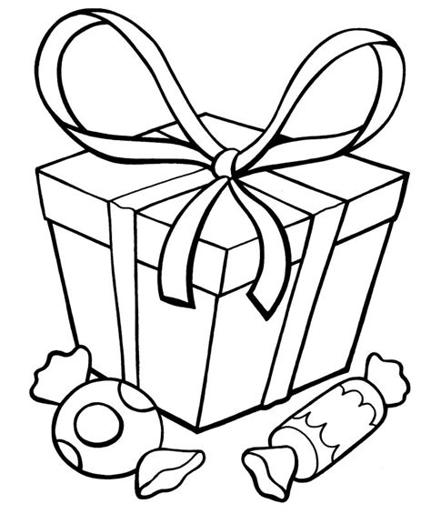 present coloring sheet az coloring pages