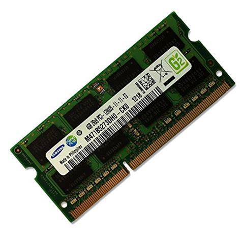 Memory Sodimm 4gb samsung 4gb ddr3 pc3 12800 1600mhz 204 pin sodimm laptop memory module ram model m471b5273dh0 ck0