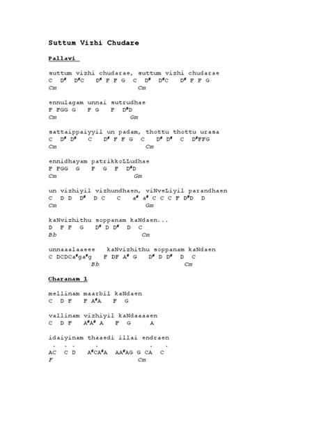 Letter New Song Tamil Notes