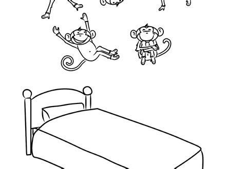 ten little monkeys coloring page my coloring page ebcs page 152