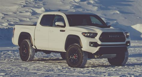 2016 Toyota Tacoma Trd Pro 2017 Toyota Tacoma Trd Pro Tougher Look And Feel Image