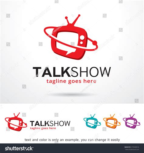 talk less and show more 16 professional learning strategies that make content stick books talk show logo design template stock vector 373440916