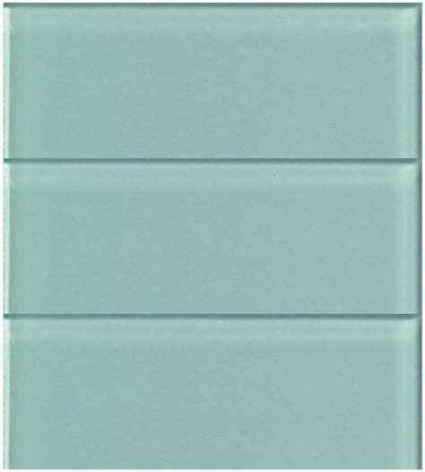 lush 4x12 pool aqua blue green glass subway tile