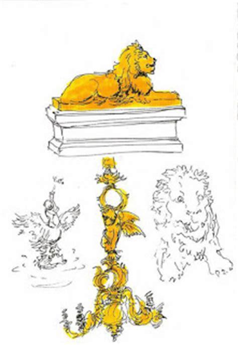 Lilin Teratai Kecil Sepasang ada singa di mangkunegaran oleh alaik azizi kompasiana