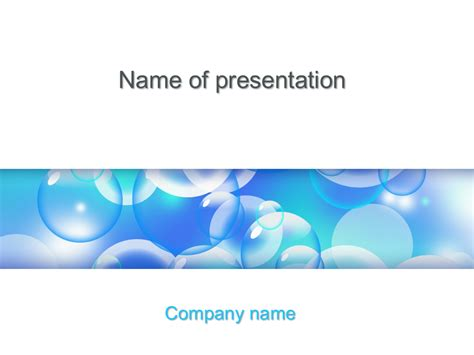 free microsoft powerpoint presentation templates free liquid bubbles powerpoint template for