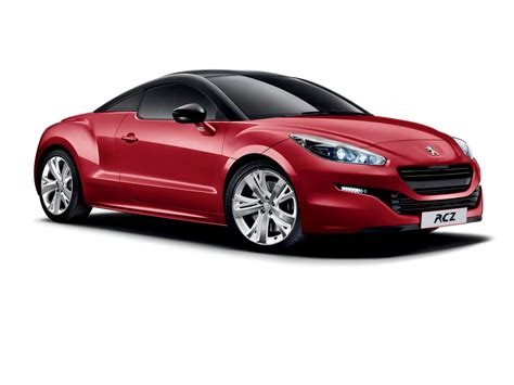 peugeot red peugeot rcz red carbon special edition launched in