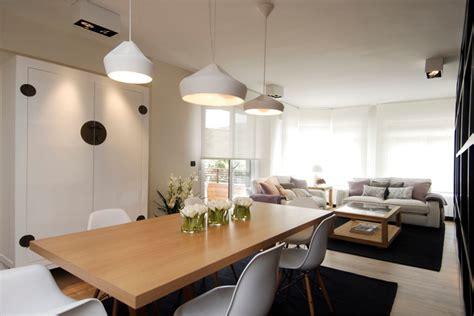 decoracion salon comedor en blancos por sube susaeta
