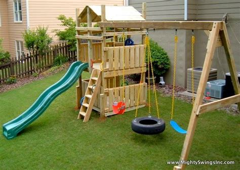 Backyard Swing Set Ideas with 25 Best Ideas About Swing Sets On Pinterest Swing Sets Swing Sets For And