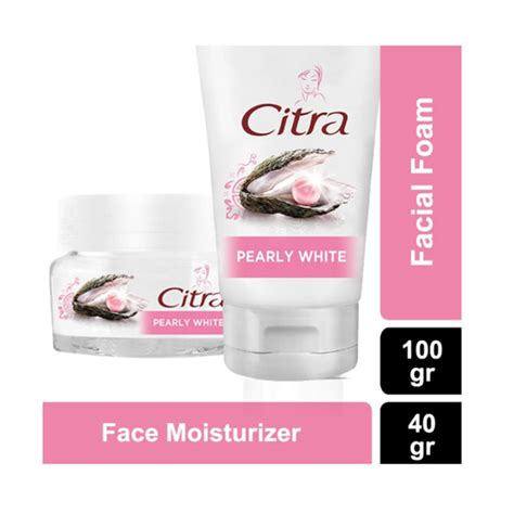 Pelembab Citra Pearly White jual citra pearly white foam 100 gr moisturizer