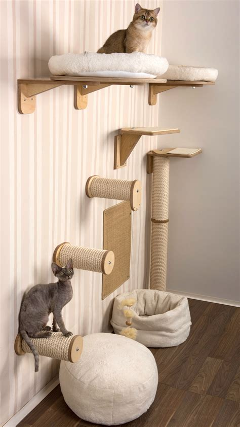 wohnung wand climbing wall for cats cat furniture for your walls