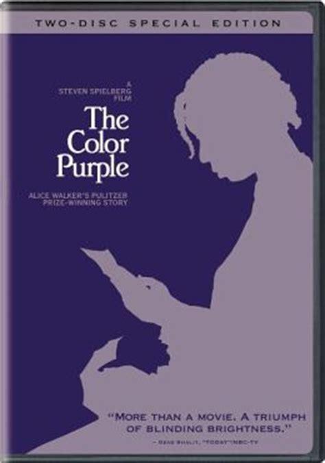 the color purple book barnes and noble color purple by warner home steven spielberg danny