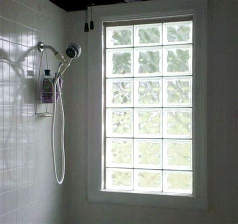 glass block windows for bathrooms glass block window midwest windows