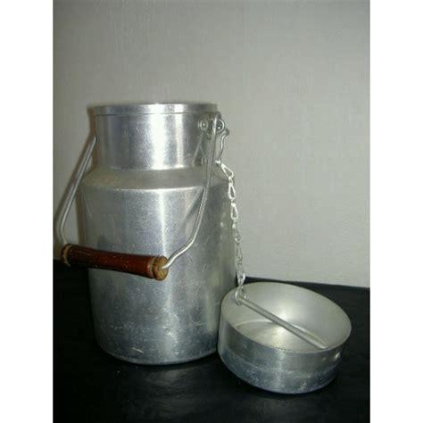 pot  lait en aluminium tournus unis france brocante lestrouvaillesdecaroline