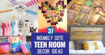 Cute Bedroom Ideas For Teenage Girls 37 insanely cute teen bedroom ideas for diy decor crafts for teens