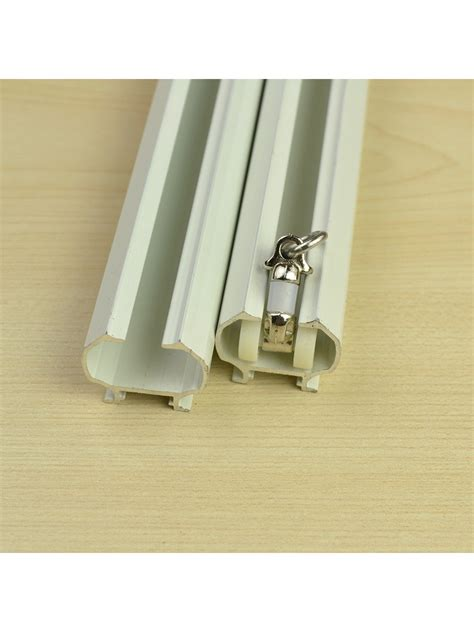 double wall brackets for curtains chr7425 ceiling wall mount double curtain track set with