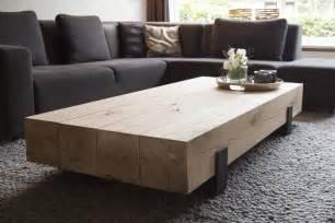 salontafels hout salontafel design