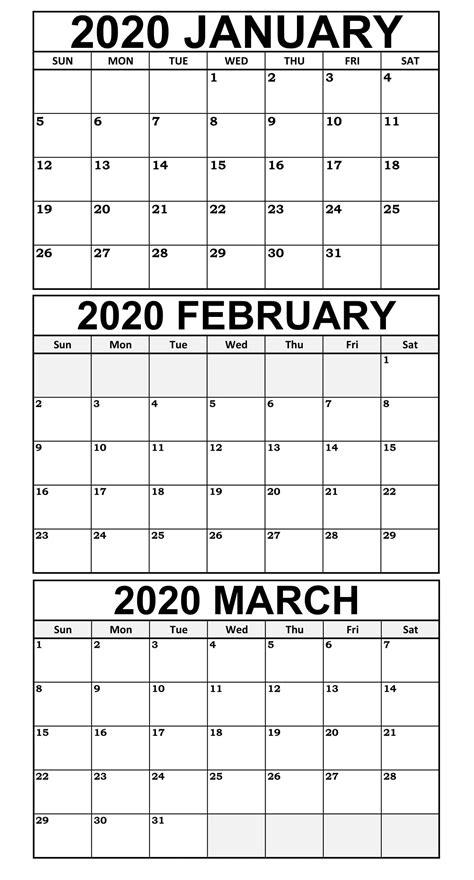 january  march  calendar template    world  calendars