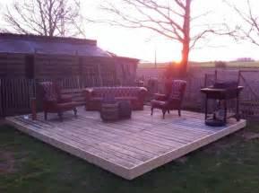 paletten terrasse terrasse aus europaletten tuinideetjes
