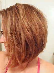wavy aline haircut too cute hairstyles pinterest