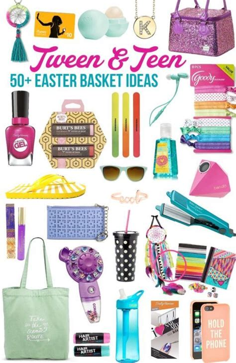small gift ideas for tween teen girls easter baskets