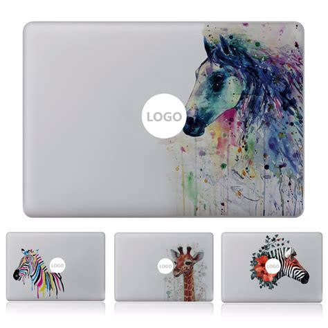 Sticker Macbook Pro And Air Be To Animals Rina Shop ink style animal vinyl decal laptop sticker