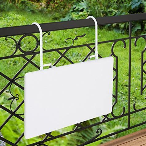 tavolino da terrazzo tavolino appendibile da balcone e terrazzo tavolino