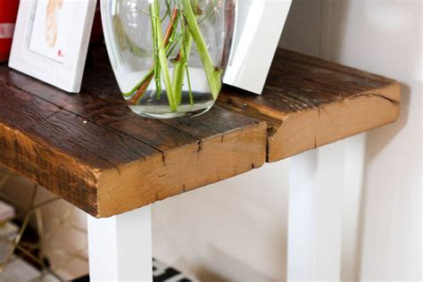 how to a reclaimed wood table diy reclaimed wood table isn t that charming