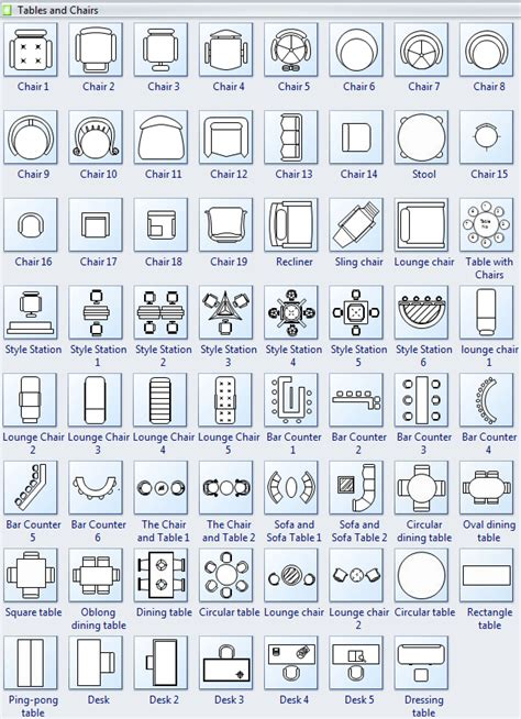 kitchen symbols for floor plans tables and chairs symbols for floor plan interior design